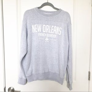 New Orleans French Quarters Crewneck Sweatshirt